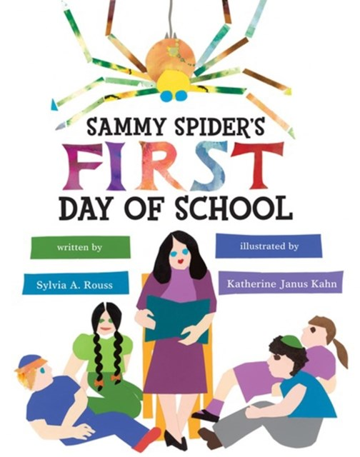 (ebook) Sammy Spider's First Day of School