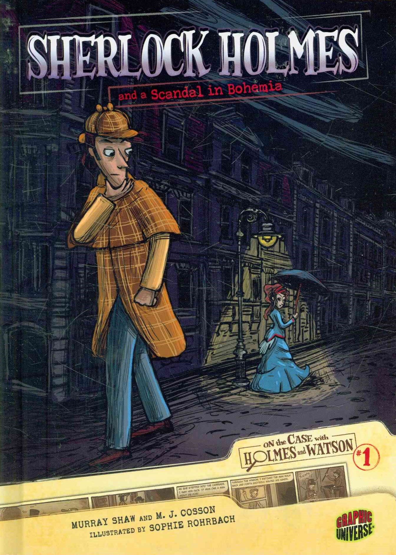 Sherlock Holmes and a Scandal in Bohemia - Graphic Book 1