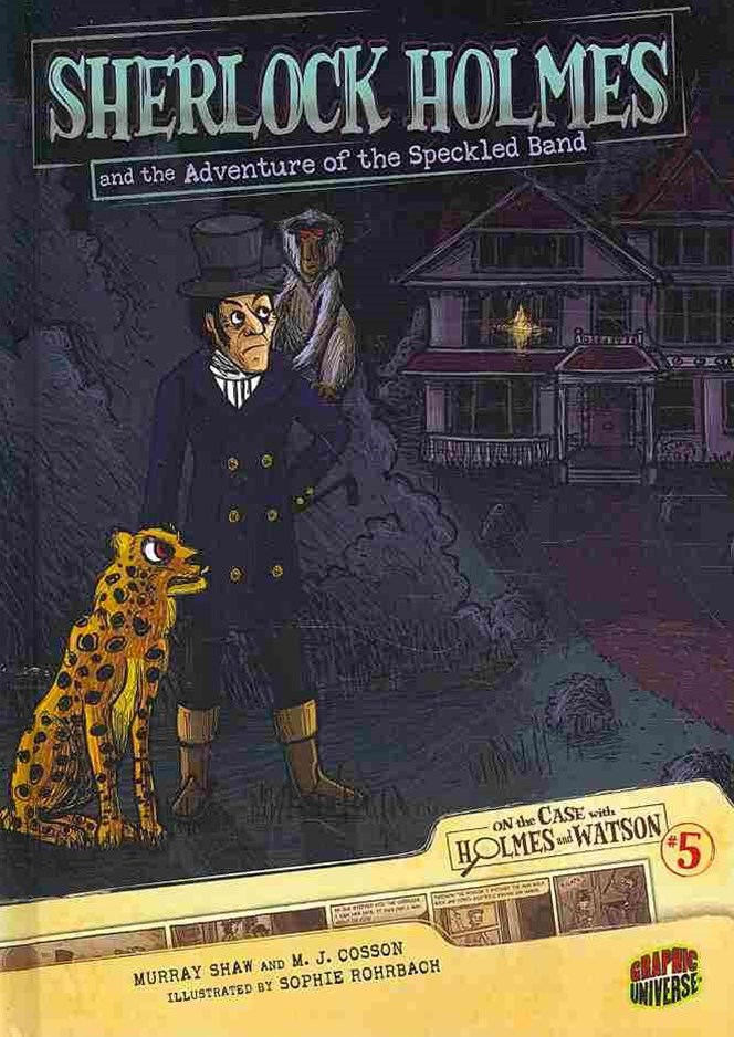 Sherlock Holmes and the Adventure of the Speckled Band - Graphic Book 5