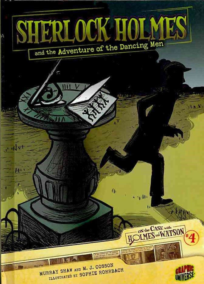Sherlock Holmes and the Adventure of the Dancing Men - Graphic Book 4