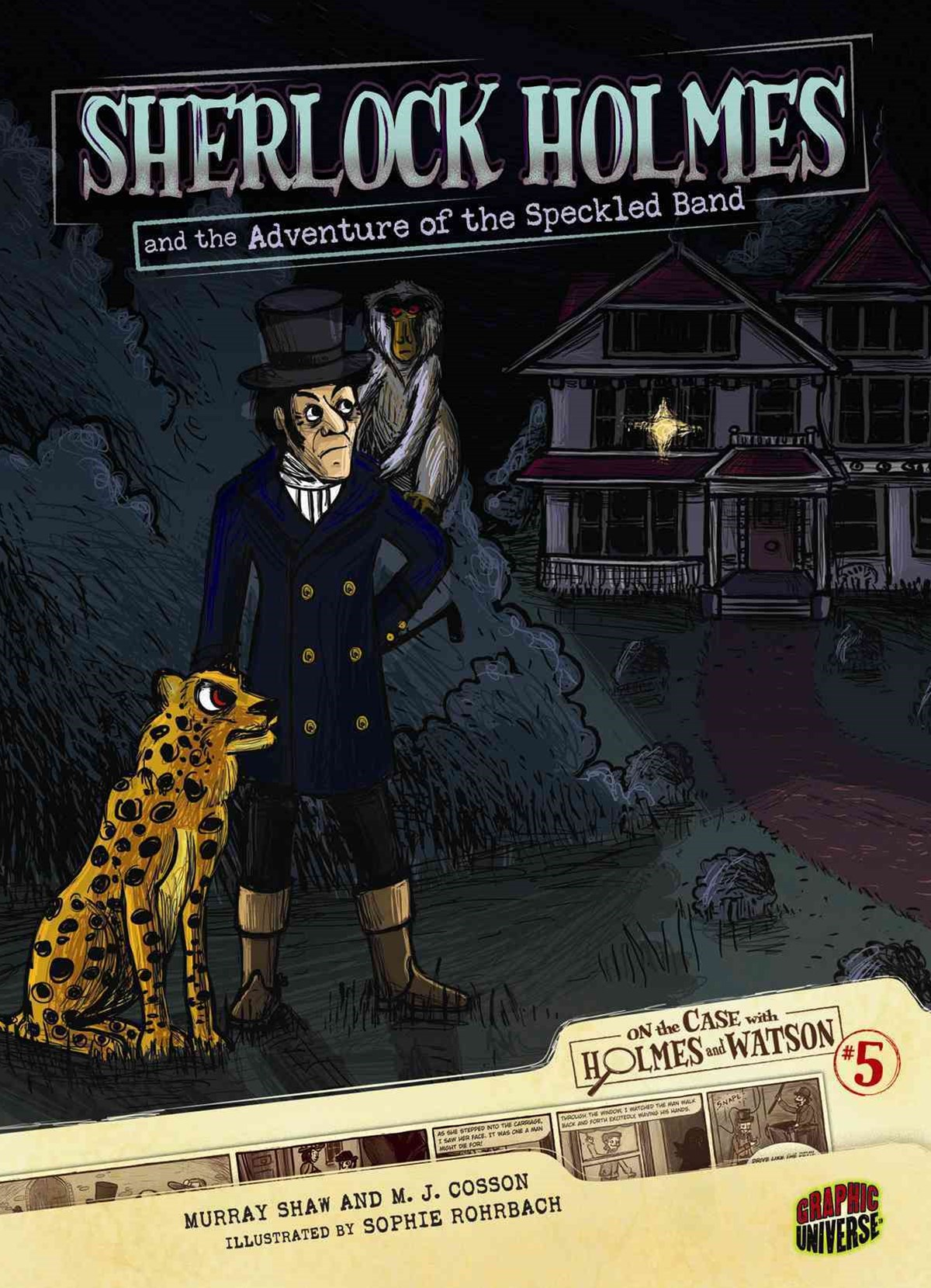 Sherlock Holmes And The Adventure Of The Speckled Band #5