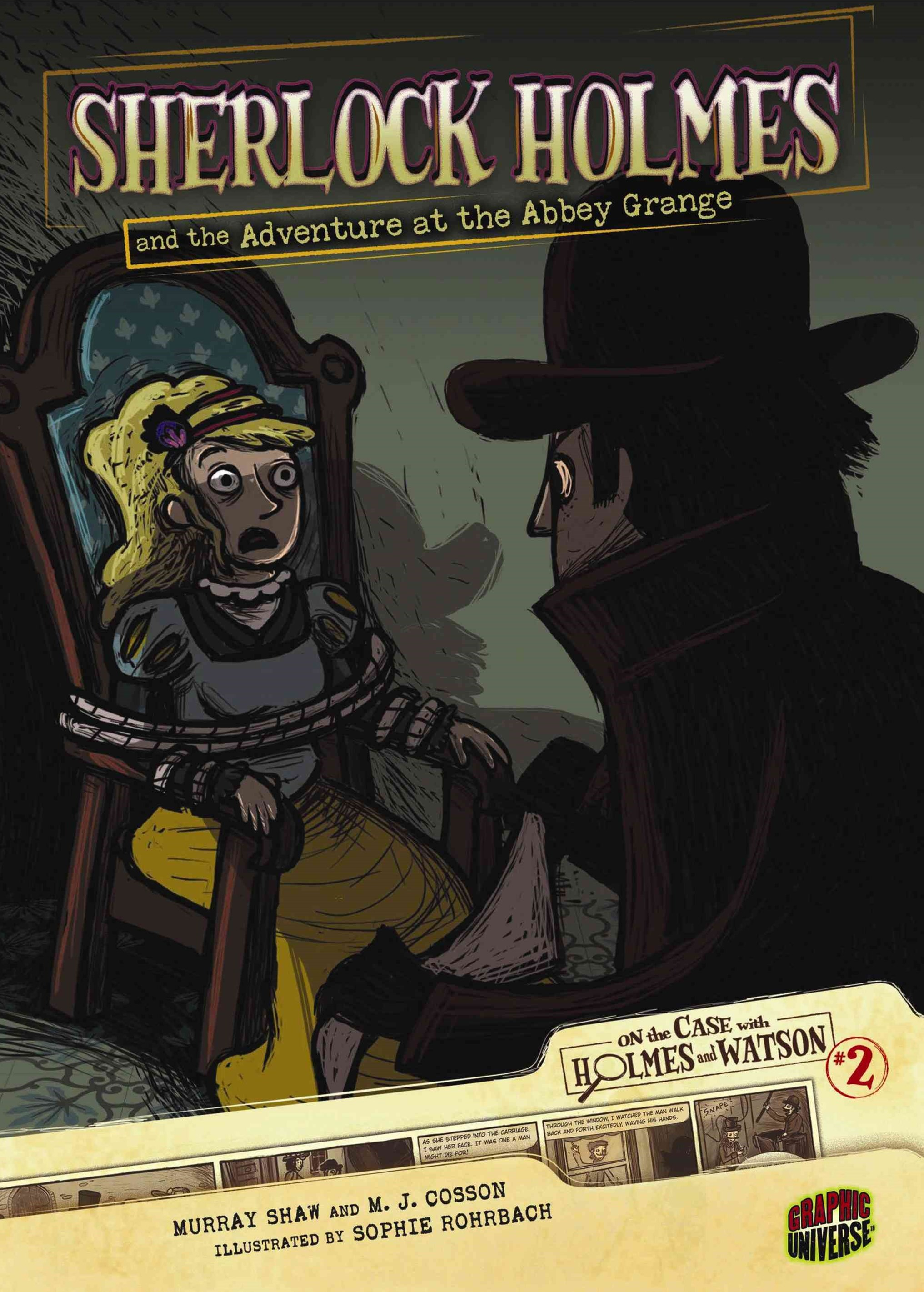 Sherlock Holmes And The Adventure At The Abbey Grange #2