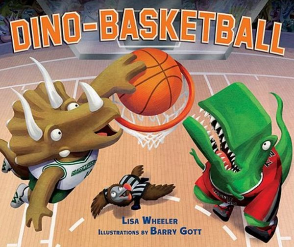 Dino-basketball Library Edition