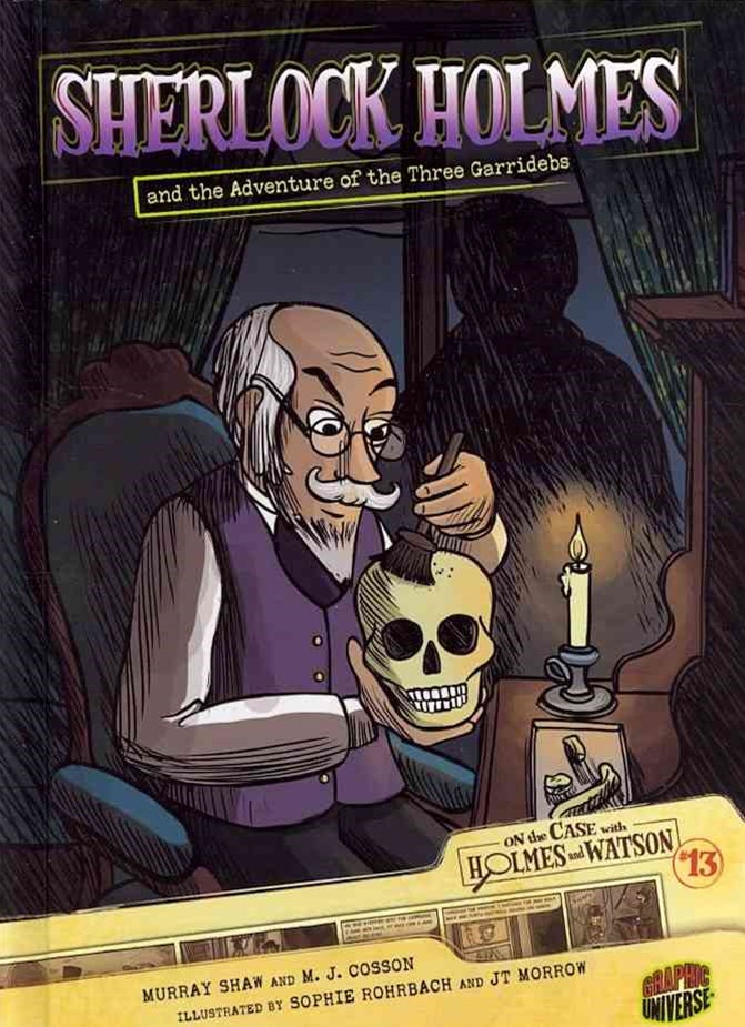Sherlock Holmes and the Adventure of the Three Garridebs - Graphic Book 13