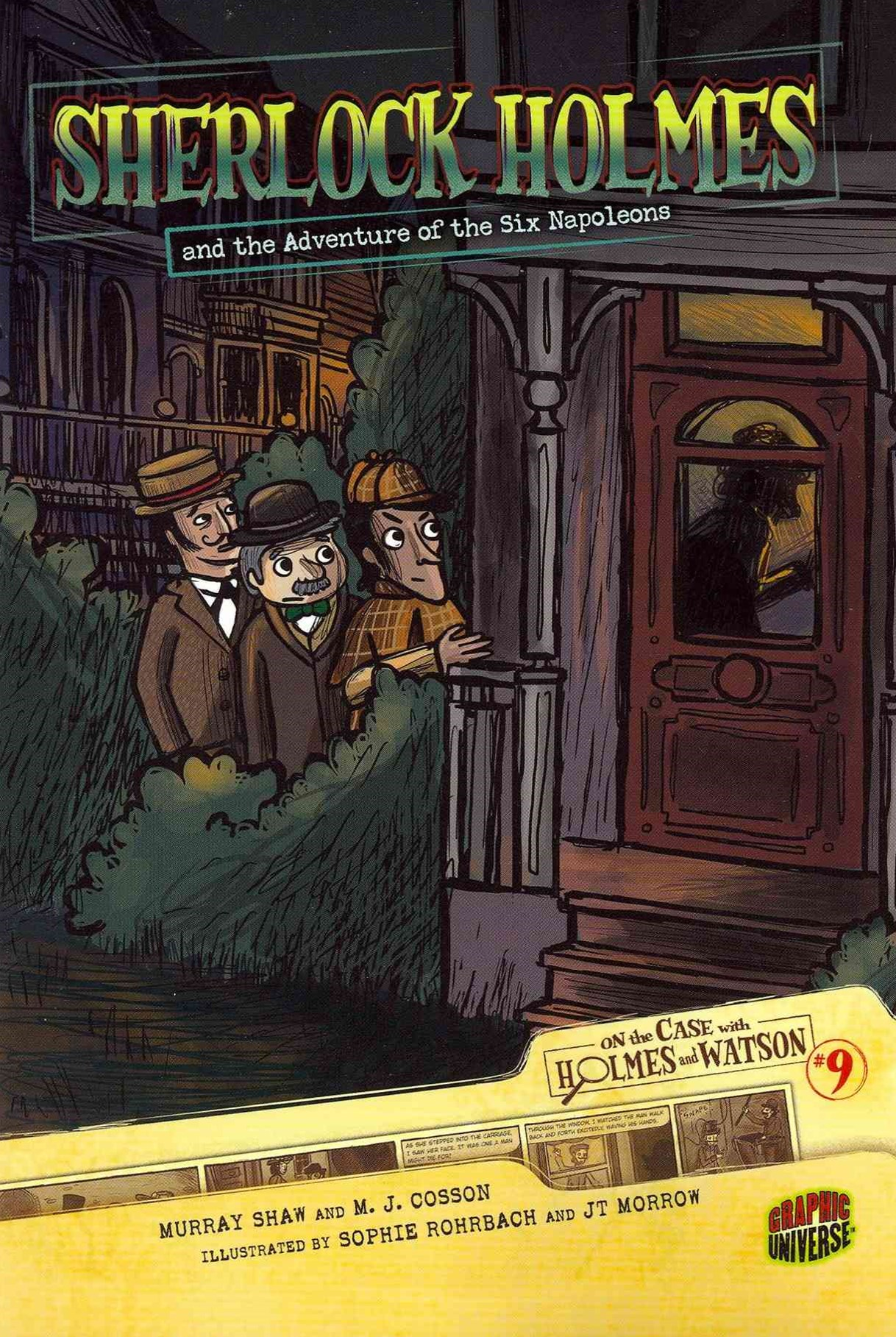 Sherlock Holmes And The Adventure Of The Six Napoleans #9