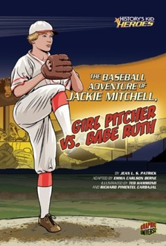 (ebook) Baseball Adventure of Jackie Mitchell, Girl Pitcher vs. Babe Ruth