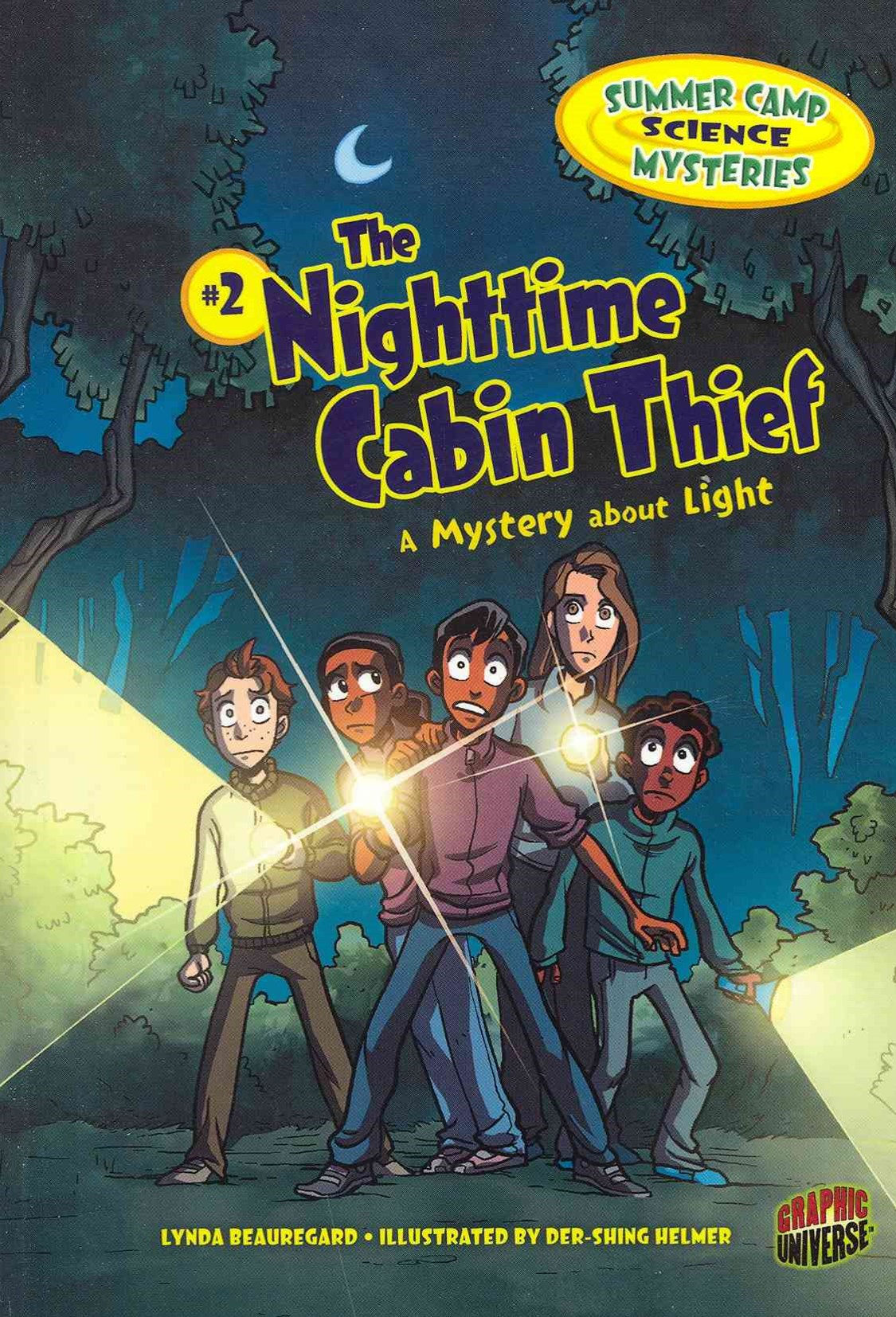 The Nightime Cabin Thief - A Mystery About Light - Summer Camp Science Mysteries