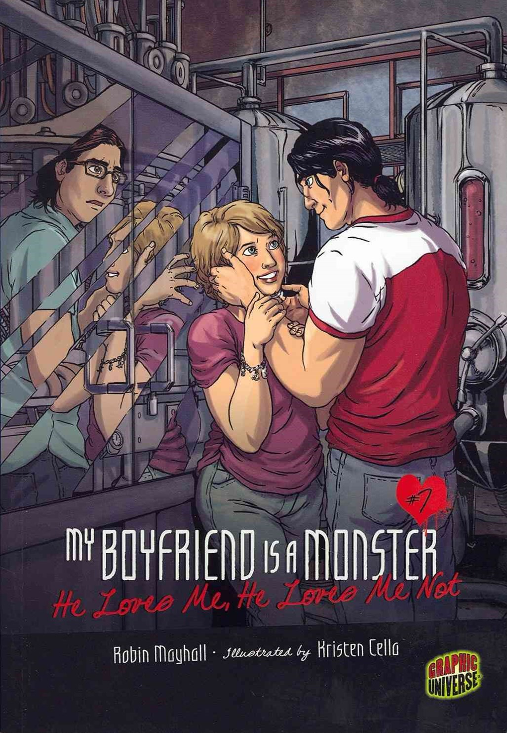 My Boyfriend Is A Monster Book 7: He Loves Me, He Loves Me Not