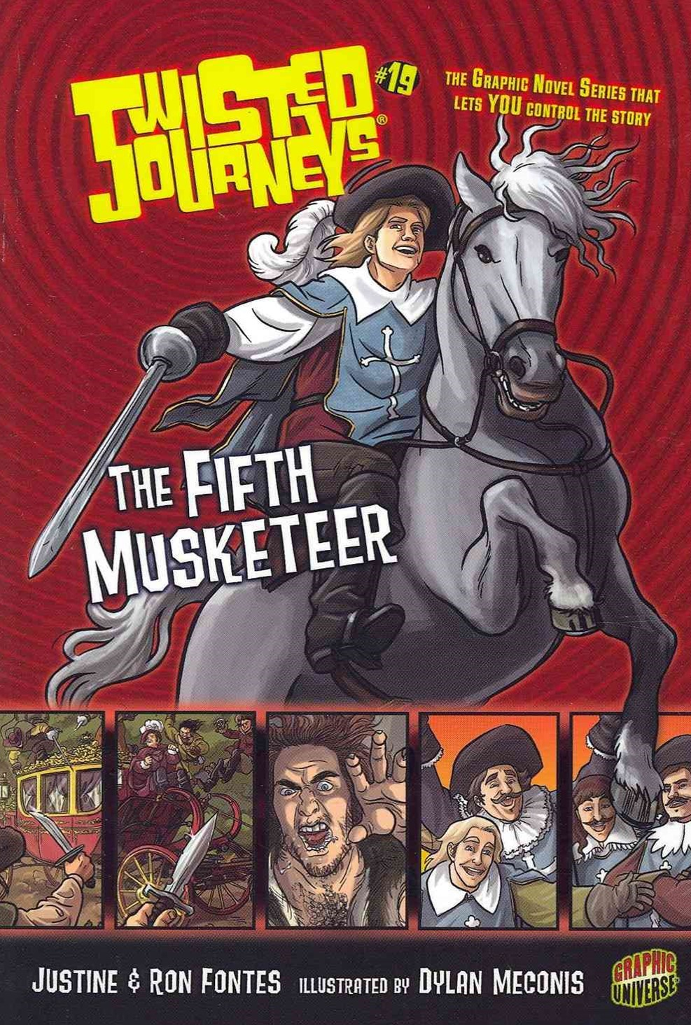 Twisted Journeys Bk 19: The Fifth Musketeer