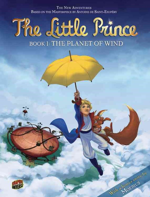 The Planet of the Wind - Little Prince Graphic Novel Book One