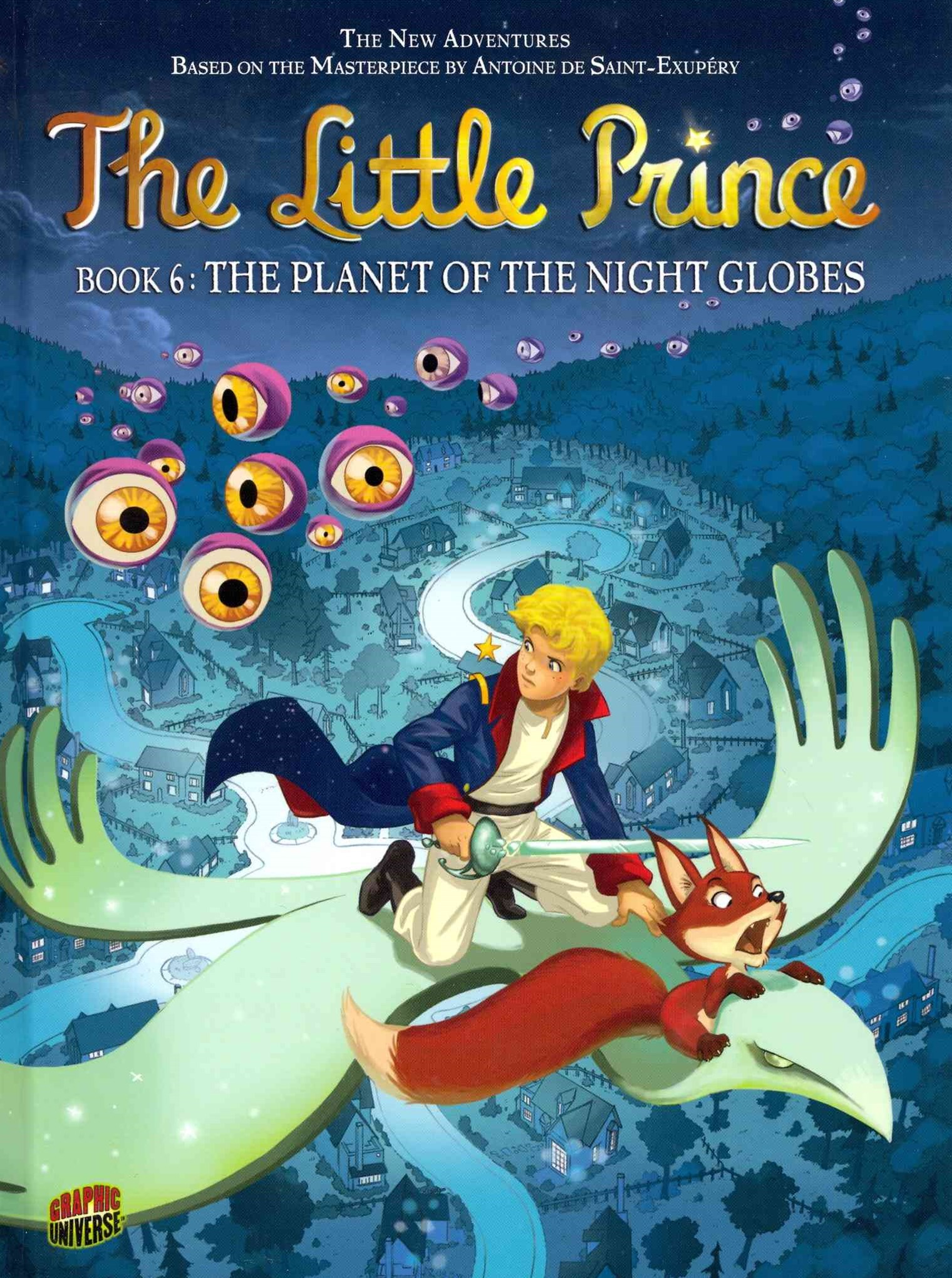 The Planet of Night Globes - Little Prince Graphic Novel Book Six