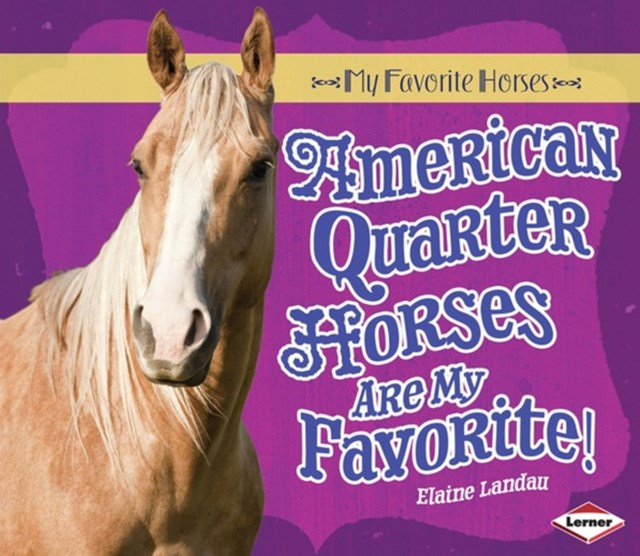 American Quarter Horses Are My Favorite!