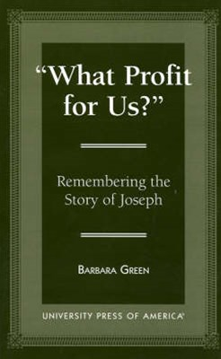 &quote;What Profit for Us?&quote;