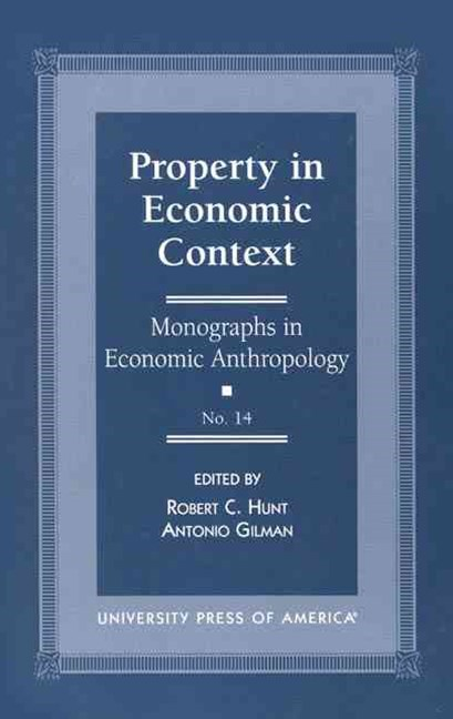 Property in Economic Context