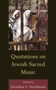 (ebook) Quotations on Jewish Sacred Music - Entertainment Music General