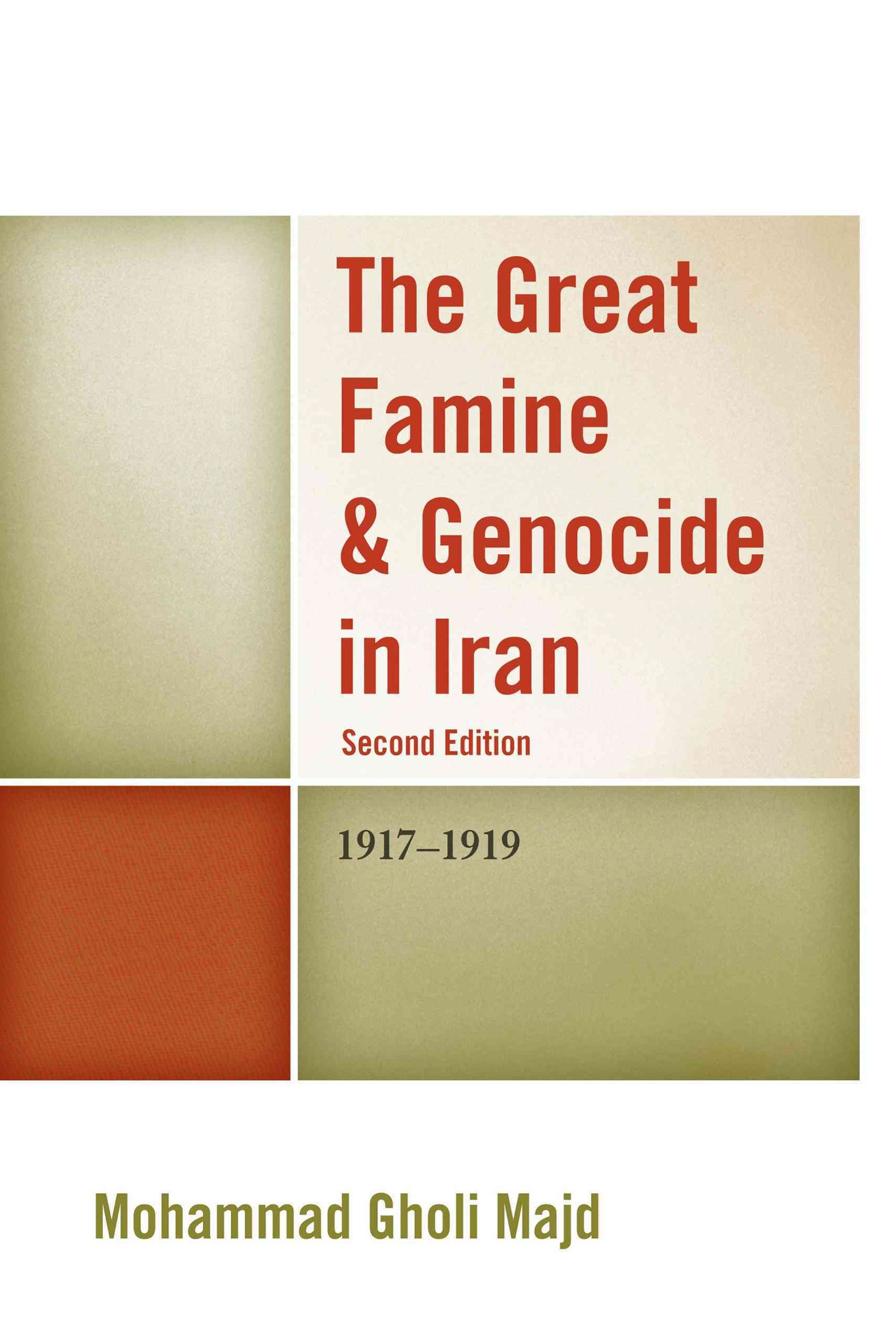 Great Famine & Genocide in Iran