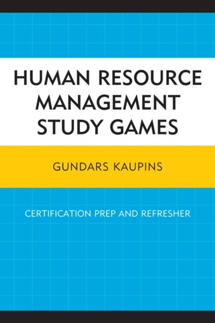 (ebook) Human Resource Management Study Games