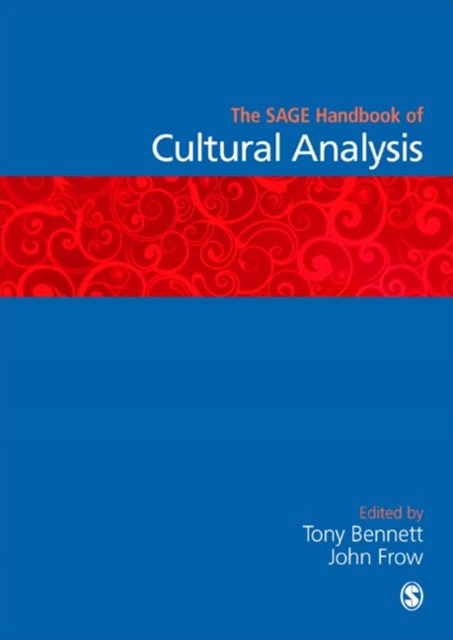 Sage Handbook of Cultural Analysis