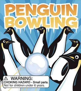 Penguin Bowling by Rebecca McCarthy (9780762431908) - HardCover - Humour General Humour