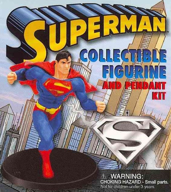 Superman: Collectible Figurine and Pendant Kit