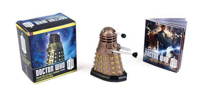 Doctor Who: Dalek Collectible Figurine and Illustrated Book