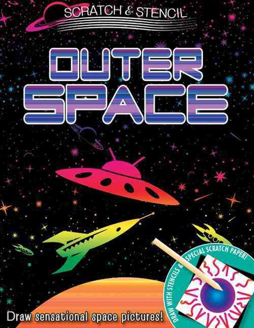 Scratch & Stencil: Outer Space