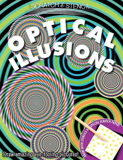 Scratch & Stencil: Optical Illusions