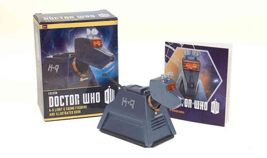 Doctor Who: K-9 Light-and-Sound Figurine and Illustrated Book - Humour General Humour