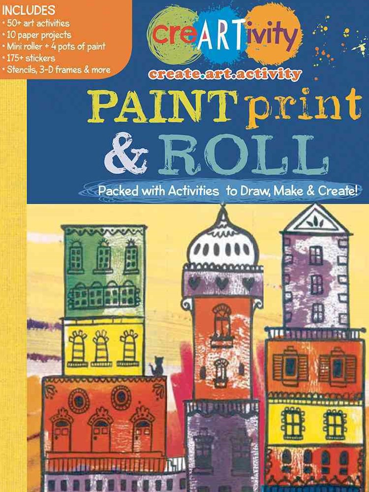 CreARTivity: Paint, Print, & Roll