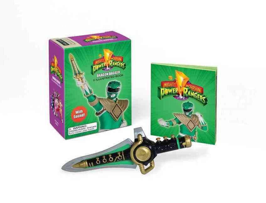 Mighty Morphin Power Rangers Dragon Dagger and Illustrated Book