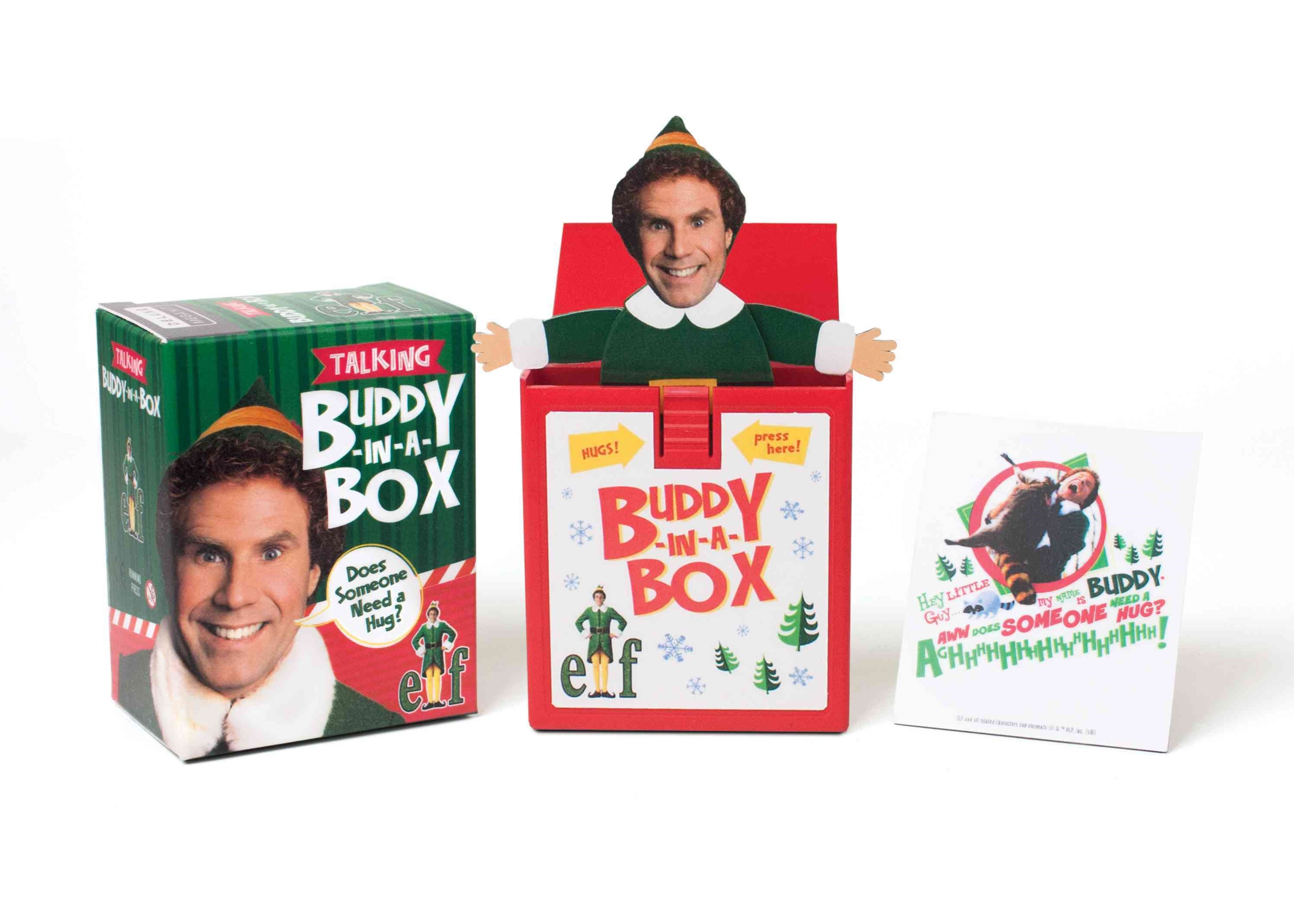 Elf Talking Buddy-in-a-Box