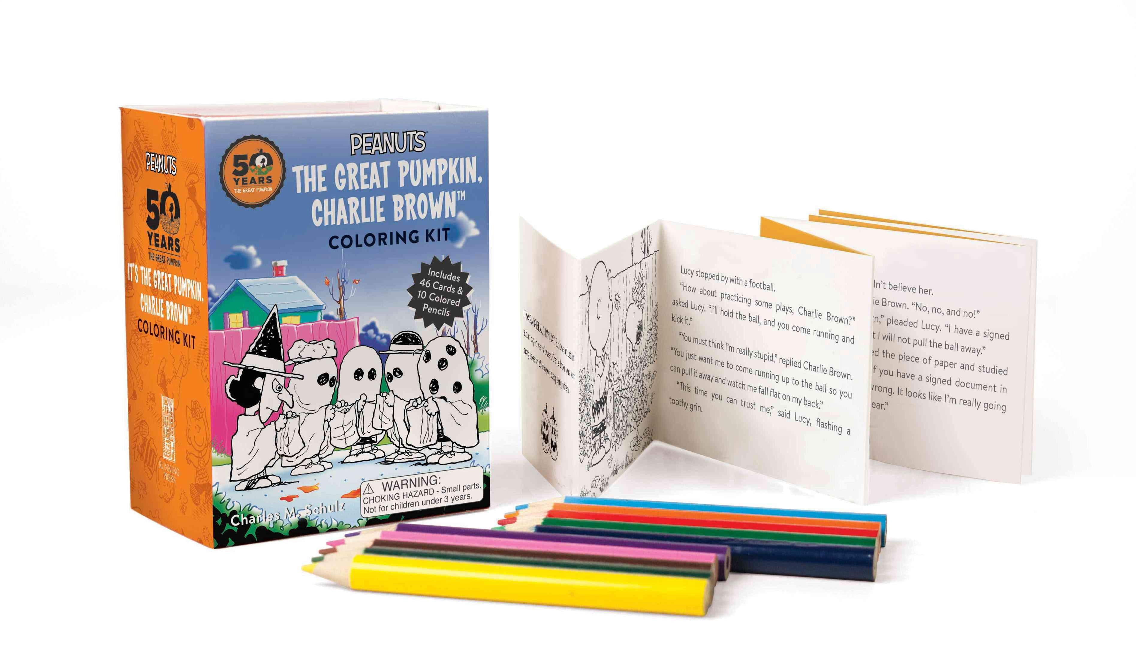 Peanuts: It's the Great Pumpkin Charlie Brown Coloring Kit