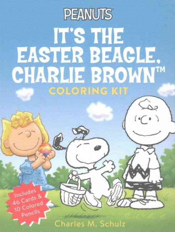 Peanuts: It's the Easter Beagle, Charlie Brown Coloring Kit