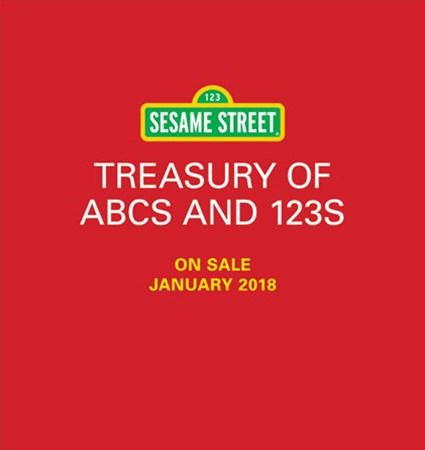 Sesame Street Treasury of Abcs and 123s