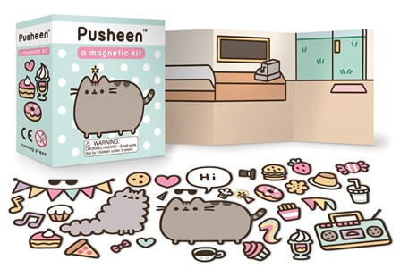Pusheen: A Magnetic Kit by Claire Belton (9780762462391) - Novelty Book - Humour General Humour