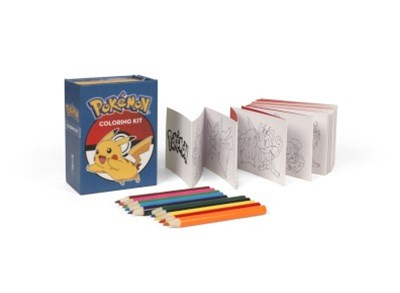 Pokemon Coloring Kit