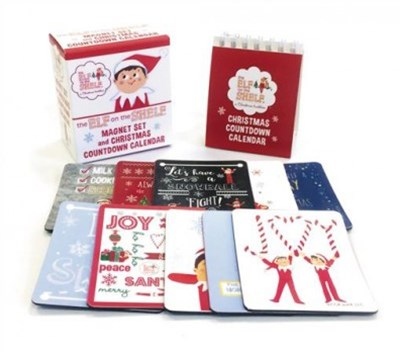 The Elf on the Shelf Christmas Countdown Calendar + Magnet Set