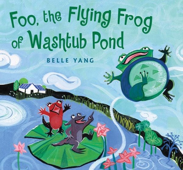 Foo, The Flying Frog Of Washtub Pond