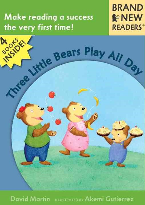 Three Little Bears Play All Day V2