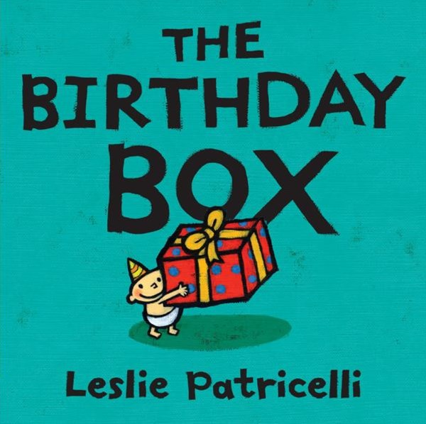Birthday Box Board Book