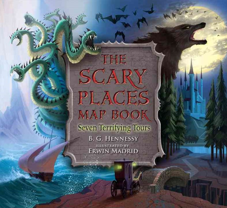 THE SCARY PLACES MAP BOOK SEVEN TERRIFYING TOURS