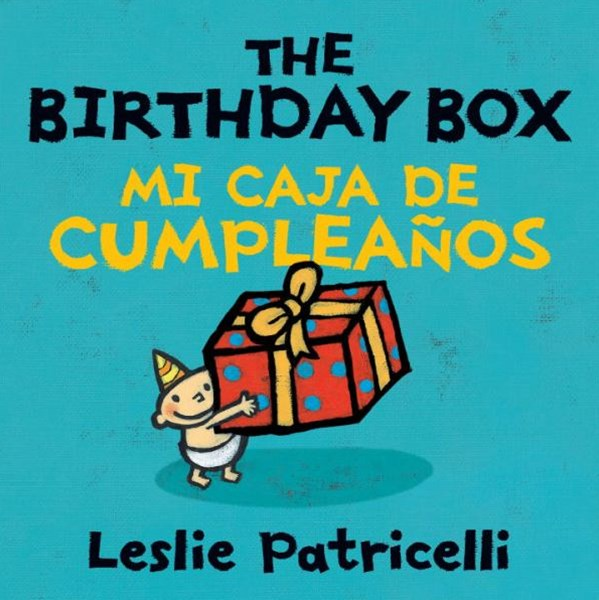 Birthday Box Bilingual Board Book