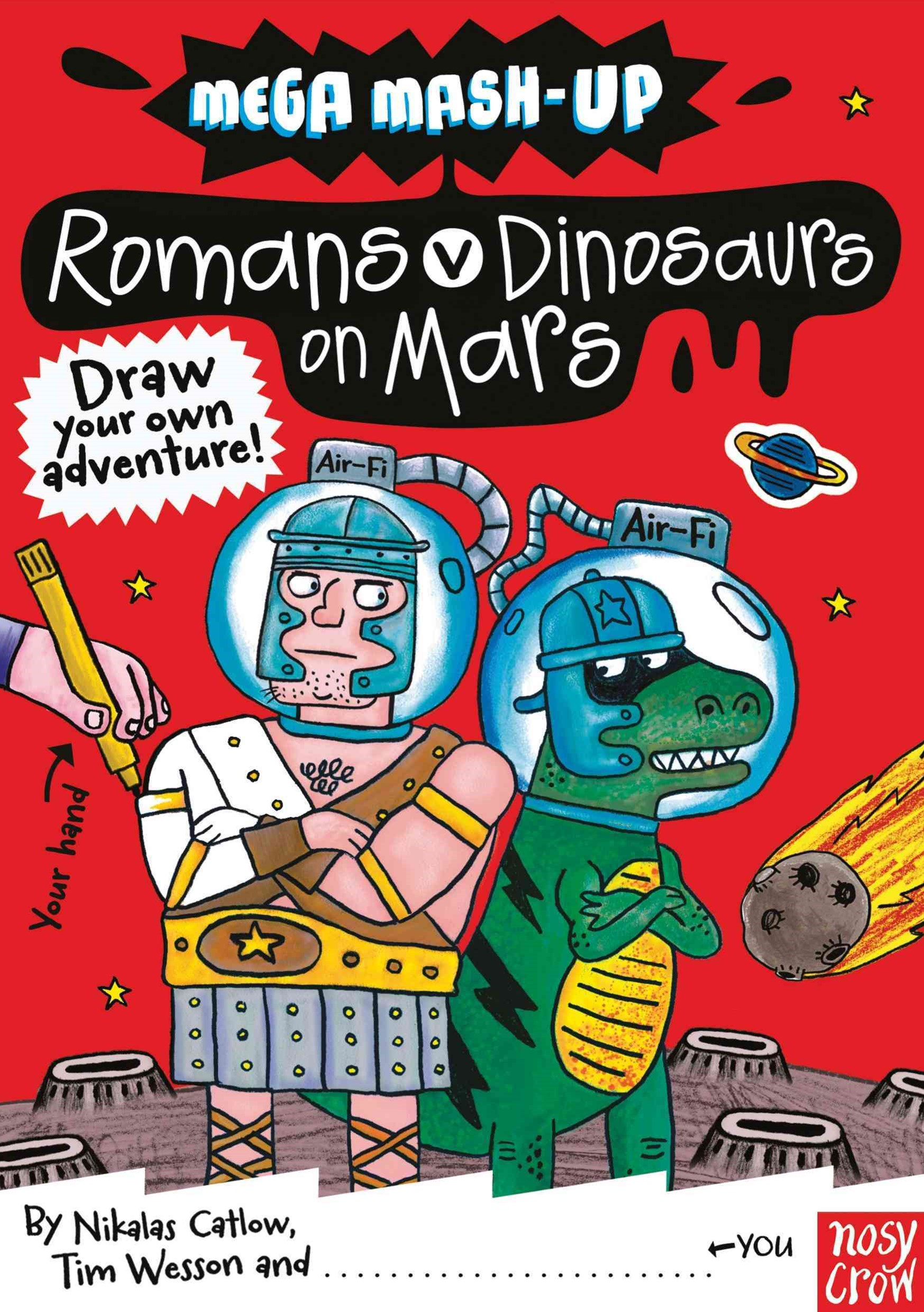 Romans vs. Dinosaurs on Mars