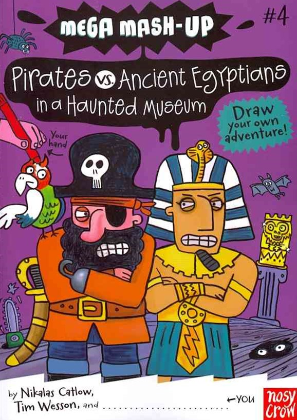 Pirates v. Ancient Egyptians in a Haunted Museum