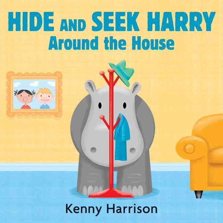 Hide and Seek Harry Around the House