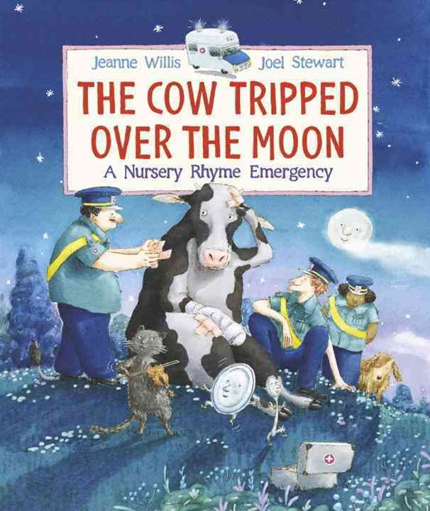The Cow Tripped over the Moon: a Nursery Rhyme Emergency