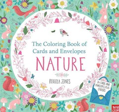 The Coloring Book of Cards and Envelopes: Nature