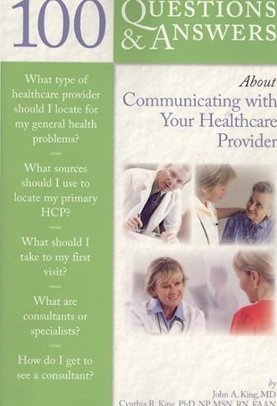 Communicating with Your Healthcare Provider