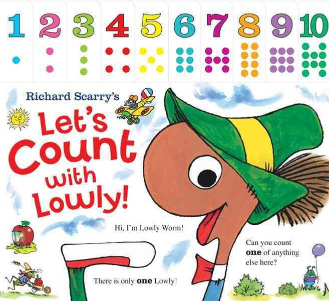 Richard Scarry's Let's Count with Lowly