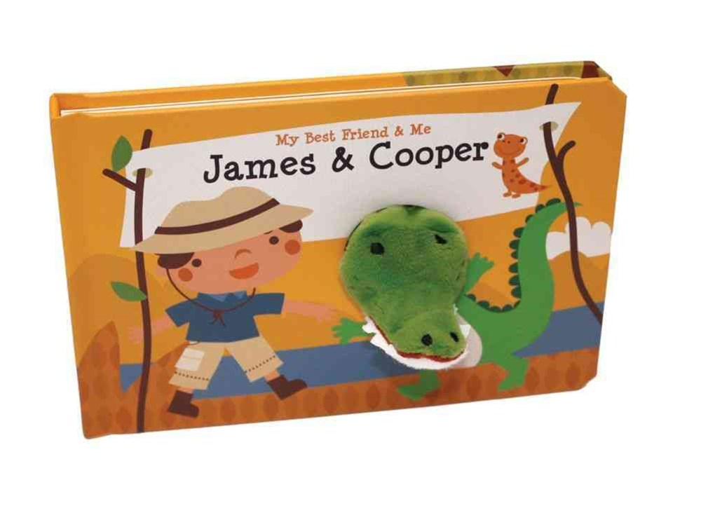 James and Cooper Finger Puppet Book